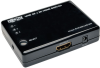 3-Port HDMI Mini Switch for Video and Audio, 4K x 2K UHD @ 24/30 Hz (HDMI F/3xF) with Remote Control -- B119-003-UHD-MN