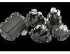 Wall Plug-In Multi Blade AC-DC Power Supply -- SMI10-5-I38 - Image