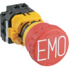 E-STOP PUSHLOCK PULL/TURN RESET 22MM XWSERIES NON ILLUMINATED 1NO 3NC CONTACTS, -- 70173407 - Image