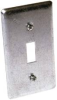HUBBELL HANDYBOX 1 TOGGLE SWITCH COVER -- IBI458524