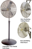 1/4 HP Non-Oscillating Fan - Image