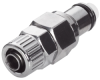 LC Series Chrome Plated Brass Quick Disconnects -- 61707