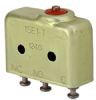 SE Series Environmentally Sealed Basic Switch, Single Pole Double Throw Circuitry, 5 A at 250 Vac, Pin Plunger Actuator, Solder (Turret) Termination -- 1SE1-T -Image