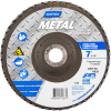 Norton Metal ZA Coarse Center Mount Fiberglass Flat Flap Disc -- 66254472667 - Image