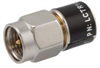 2 Watt RF Load Up to 1 GHz with SMA Male Nickel Plated Brass Body -- LCTR1001 - Image