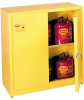 30-Gallon Flammable Liquid Safety Tower Storage Cabinet -- CAB115-L-YELLOW