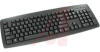 Keyboard, Black, Business Design, USB Keyboard, US 104 Position Key Layout -- 70207374
