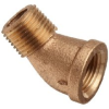 Brass Pipe Fitting, Class 125, 45 Degree Elbow, NPT Male… - Image