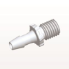 Screw-type Connector, White, 5/16 UNF Thread with Barb -- GS520 -Image