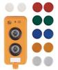 AS-Interface illuminated pushbutton module -- AC2386 -Image