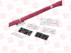 """PANDUIT ABM112-AT-D0 ( (PRICE/EACH) THE 4-WAY ADHESIVE BACKED CABLE TIE MOUNT IN BLACK IS MOUNTED WITH ACRYLIC ADHESIVE TAPE. IT IS 1.12"""" LONG X 1.12"""" WIDE (28.6 X 28.6 MM) AND MADE OF WE... -- View Larger Image"""