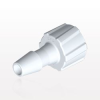Male Luer Lock to Barb, White -- LM5130 -Image