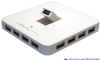 13-Port Hi-Speed USB 2.0 External Hub (White) -- HU1311