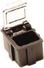 Hinged SMD Conductive Storage Box -- SM0880 - Image