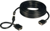 VGA Coax Easy Pull Monitor Cable, High Resolution Cable with RGB Coax (HD15 M/M), 50-ft. -- P503-050