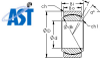 Rod Ends and Spherical Bearings -- GE10C - Image