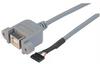 USB Type B Cable, Female Bulkhead/Female Header 1.0M -- UPMB5-2MM-1M