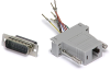 RJ45/DB15 Male Adapter -- 10-01044