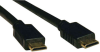 High Speed Mini-HDMI Cable, Digital Video with Audio (M/M), 6-ft. -- P572-006 -- View Larger Image