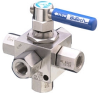 3-Way Diverting Ball Valves - Image