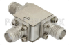 Circulator With 16 dB Isolation From 8 GHz to 18 GHz, 10 Watts And SMA Female -- PE8404 - Image