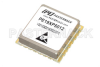 Surface Mount (SMT) 4 GHz Phase Locked Oscillator, 100 MHz External Ref., Phase Noise -110 dBc/Hz, 0.9 inch Package -- PE19XP5012 - Image