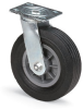 8 Solid Rubber Casters -- 7221400 - Image
