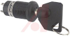 Switch,KEYLOCK,Sealed,16MM HIGH SECURITY,ANTISTATIC,ON-NONE-ON,1 Position -- 70192890 - Image