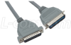 Molded Printer Cable, DB25 Male / CN36 Male, 10.0 ft -- CMX10-IBM