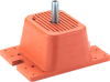 Double Deflection Isolator -- RDP-Double-Deflection-Isolators-w/-Positioning-Pin -Image