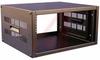 Rack;Desktop;Vent Sides;16ga.Steel;MaxWt.800lbs;21Wx17.5D;22.75inPanel H;Black -- 70164899