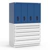R2V Vertical Drawer Cabinet -- RL-5HHG38006N -Image