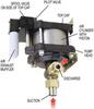 Oil or Oil/ Water LO Series Pump -- LO10 - Image