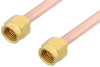 2.92mm Male to 2.92mm Male Cable 12 Inch Length Using RG402 Coax -- PE34729-12 -Image