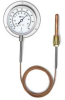Panel Mount Thermometer,-20 to 100 F -- 2CYP3 - Image