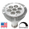 Chicago Dimmable PAR30 LED Light Bulb (w/ Cree XP-G LEDs, 8 Watt) -- LW10-CHI-030-WW-DM
