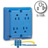 Leviton Surge Protective Four-In-One 2-Pole 3-Wire.. -- 5480 -- View Larger Image