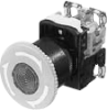 Emergency Stop Illuminated Pushbutton Switch With Push-Lock, Turn-Reset -- AR22V0L - Image