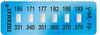 Thermax® 6 Level Mini Strip Irreversible Temperature Recording Strips -- 06STHM0ML6C01PK