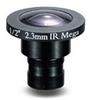2.3mm 2 Megapixel Fixed Iris F2.0 1/2