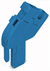 1-conductor base module; angled; with integrated end plate; codable; 1-pole -- 769-512/000-006 - Image