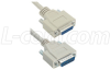 Reversible Hardware Molded D-Sub Cable, DB15 Male /Female, 2.5 ft -- CRMN15MF-2.5 -Image