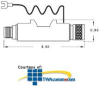 Cylix 50 OHM, BNC for Ethernet 10 Base 5 Surge Protector -- CCP-2DA-N -- View Larger Image