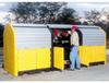 Hard Top Drum Storage Units -- X166