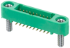 10+10 Pos. Male DIL Vertical SMT Conn. Screw-Lok Board Mount (T+R) -- G125-MS12005M2R - Image