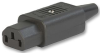 IEC POWER CONNECTOR, SOCKET, 10 A -- 26M7353