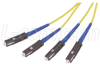 9/125, Single mode Fiber Cable, Dual MU /Dual MU, 1.0m -- SFODMU-01