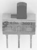 GRAYHILL - 48ASSP3S1M2RBT - SWITCH, SLIDE, SPDT, 20V, THROUGH HOLE -- 671352