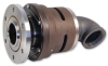 6300 Series Monoflow Cartridge Water Rotating Union Rotary Joints -- 6300-001-103 - Image