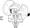 Steel Self-acting Control Valve -- KC43 -- View Larger Image